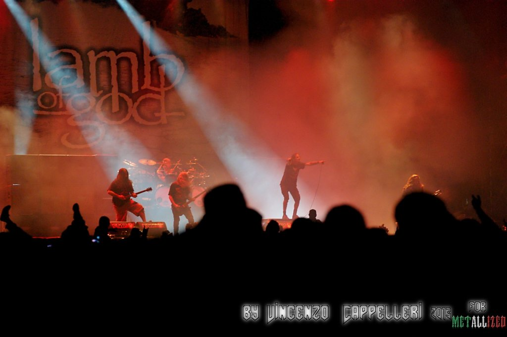 Lamb of God @ Summer Breeze 2013