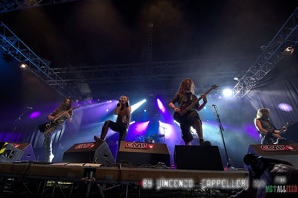 The Agonist @ Summer Breeze 2014