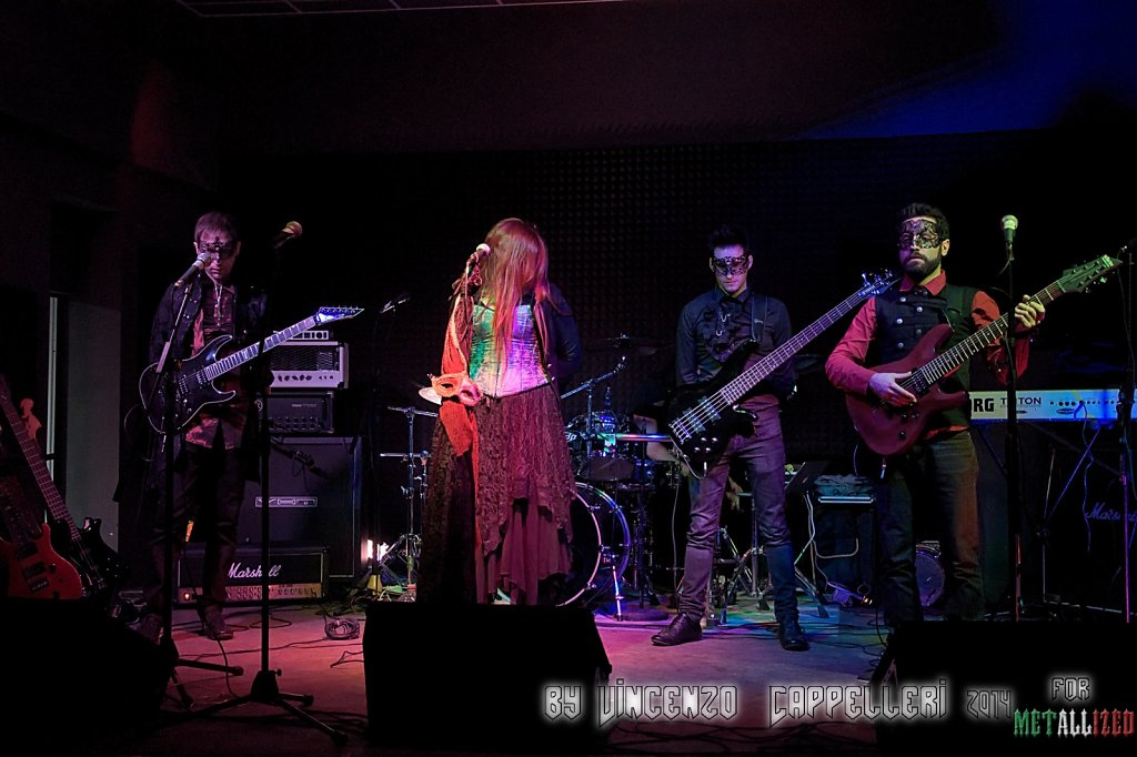 Red Masquerade @ Alchemica Music Club 2014