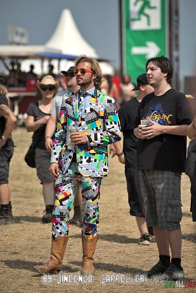 Technicolor guy @ Summer Breeze 2015